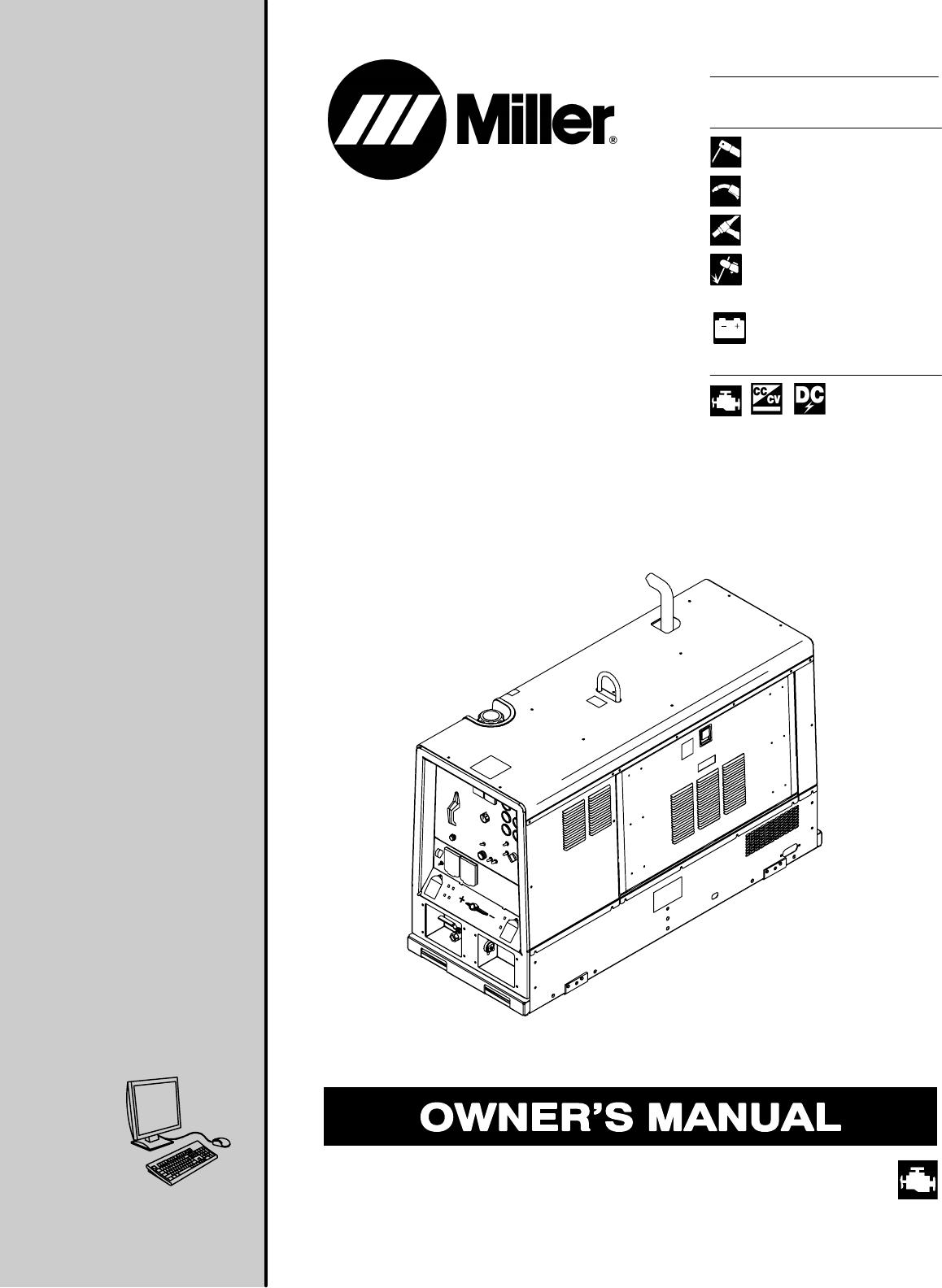 Miller Electric Welding System OM-4409 User Guide