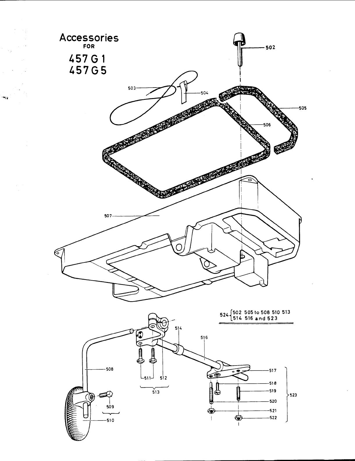Page 11 of Singer Sewing Machine 457G5 User Guide