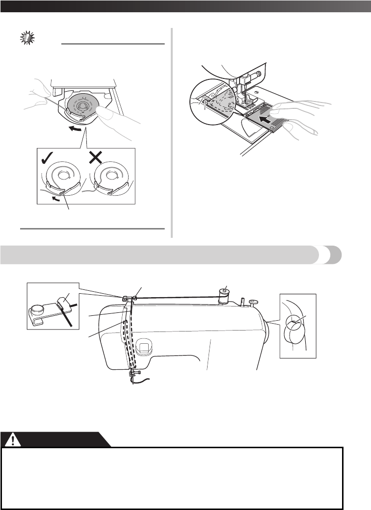 Page 18 of Brother Sewing Machine 885-X06 User Guide
