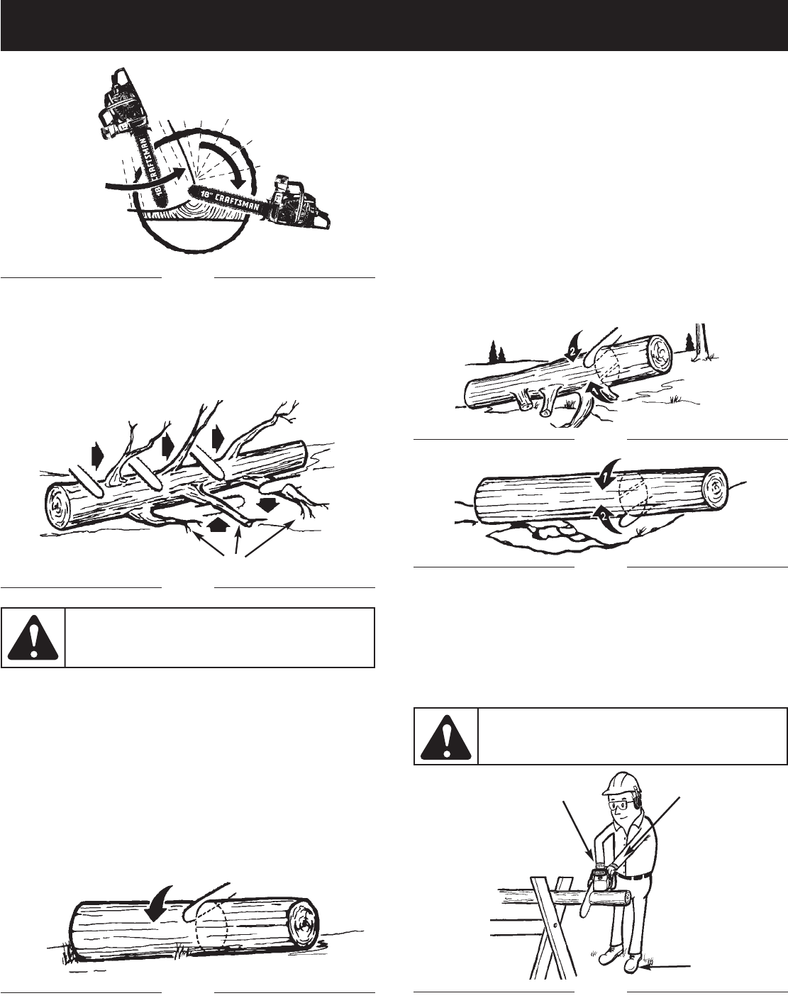 Page 14 of Craftsman Chainsaw 316.350850 User Guide