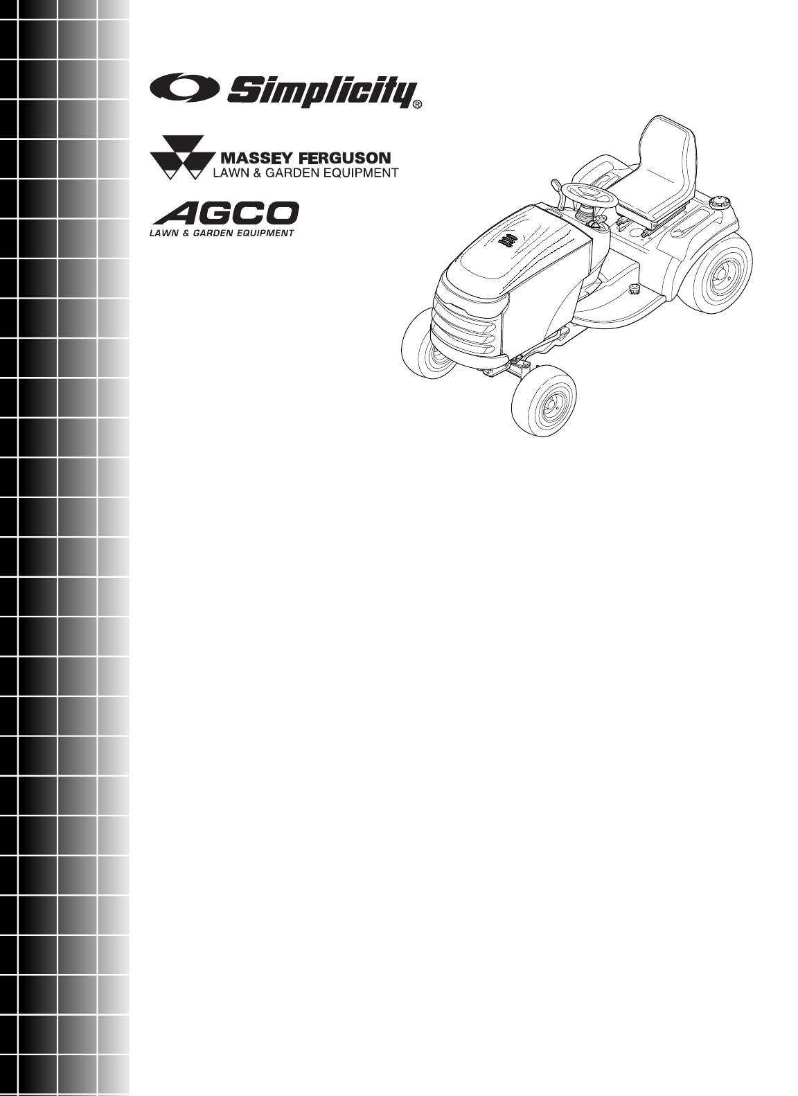 Simplicity Lawn Mower 1800 Series User Guide