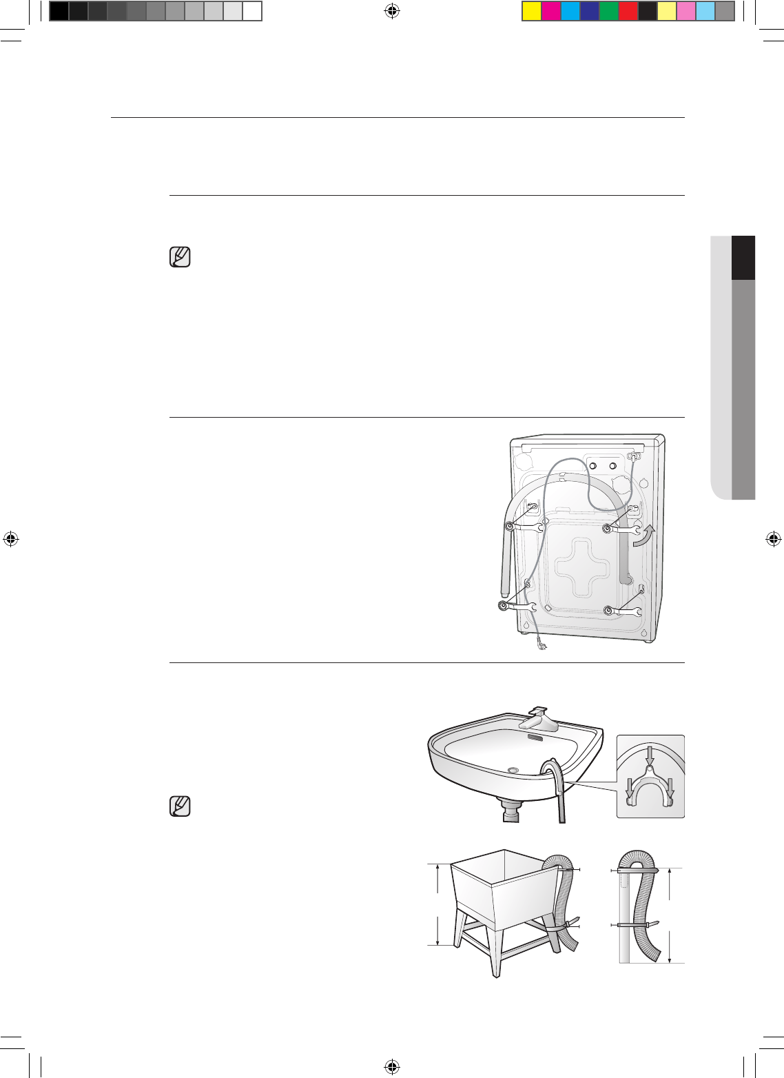 Page 9 of Samsung Washer/Dryer BFW36W User Guide