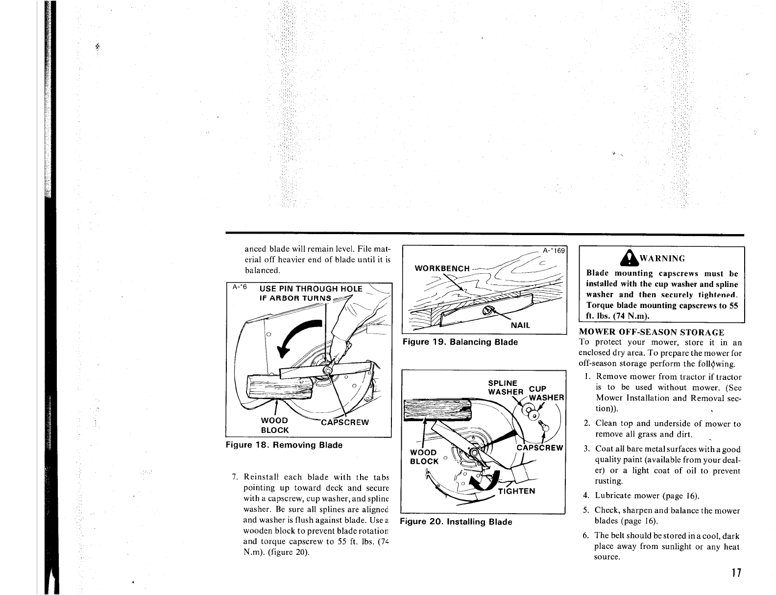 Page 21 of Simplicity Lawn Mower 5212.5H User Guide