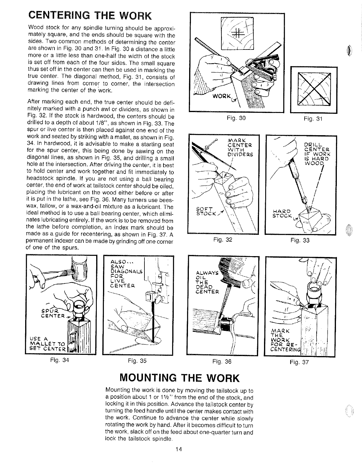 Page 14 of Delta Lathe 434-08-651-0001 User Guide