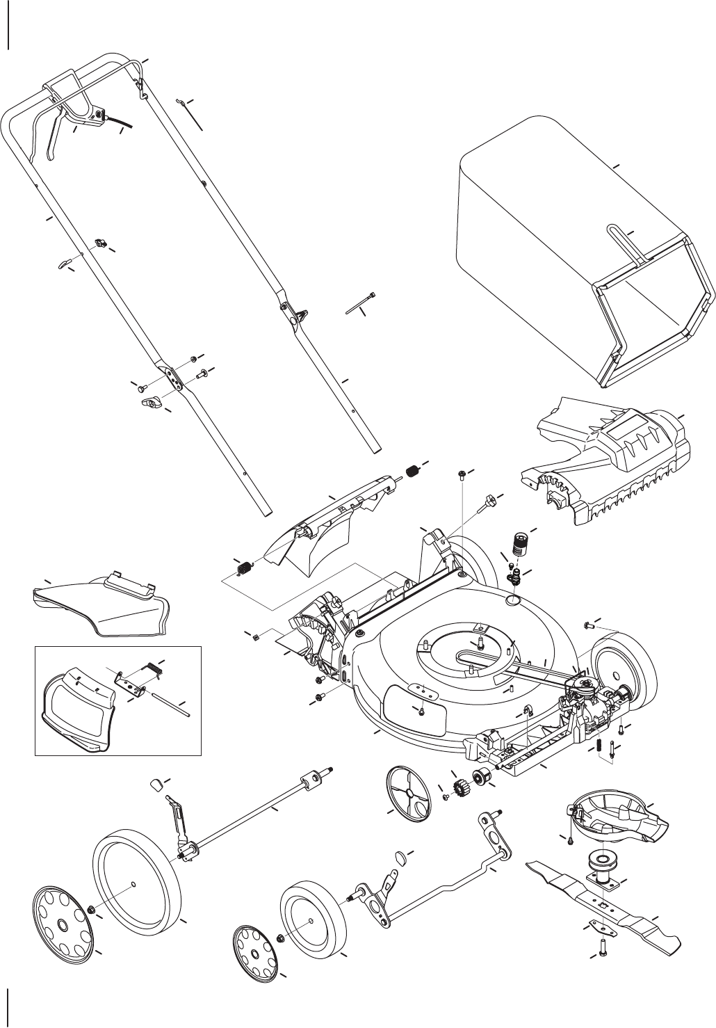 Page 8 of Troy-Bilt Lawn Mower TB220/230 User Guide