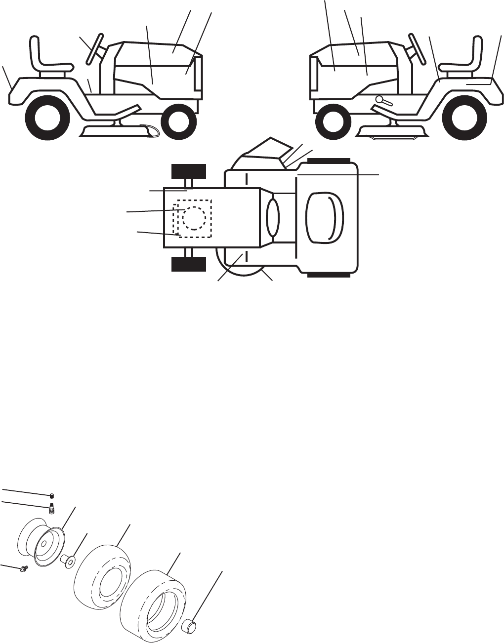 Page 38 of Husqvarna Lawn Mower LTH1797 User Guide