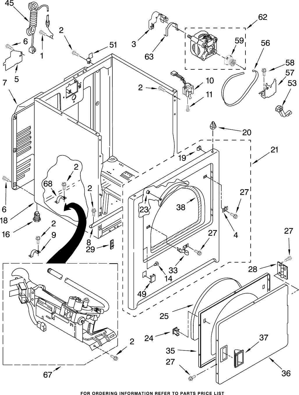 Page 3 of Whirlpool Clothes Dryer WGD5300SQ0 User Guide
