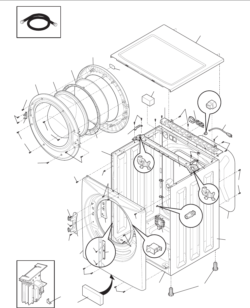 Page 6 of Frigidaire Washer FAFW3577KA1 User Guide
