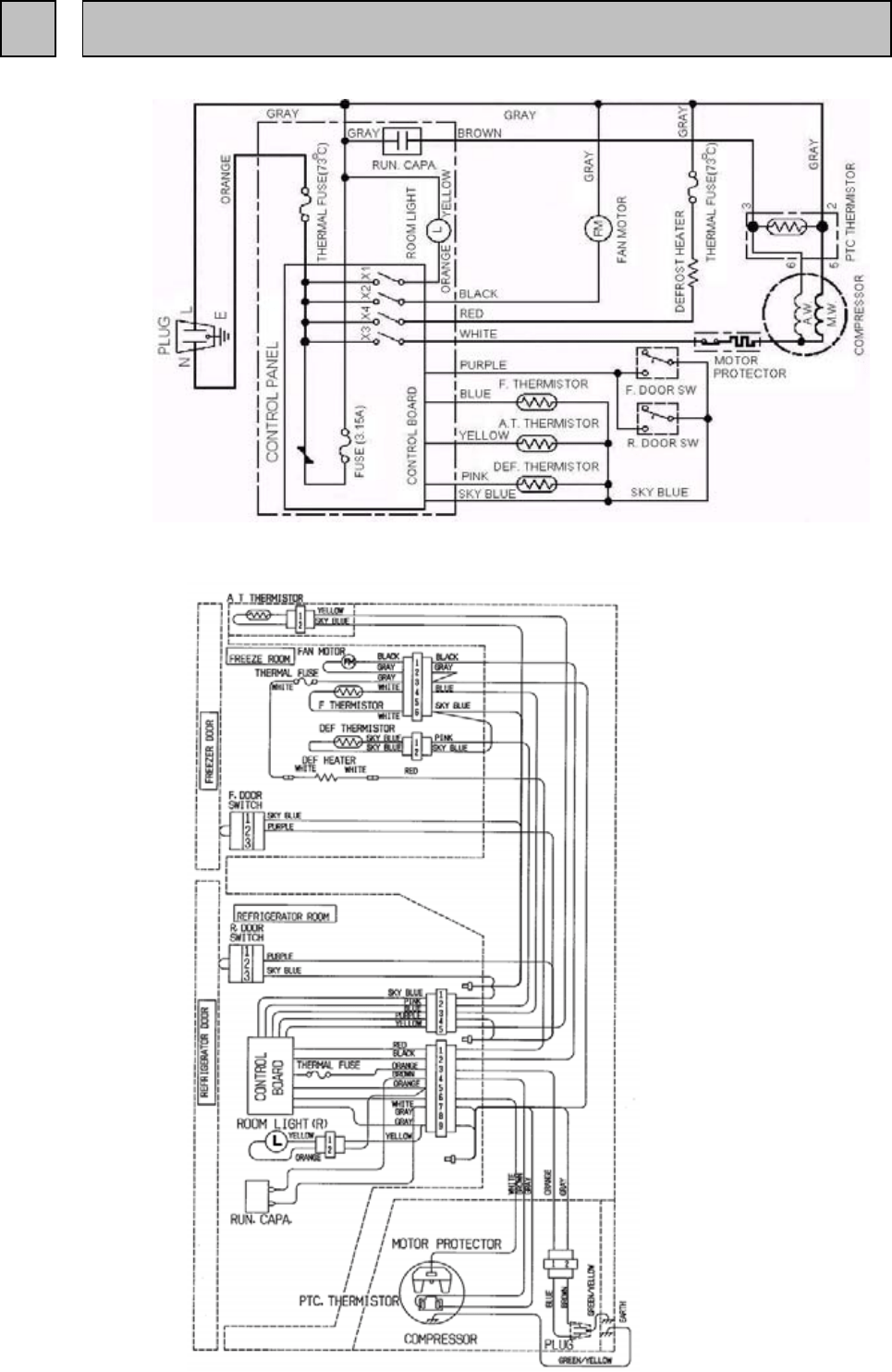 Page 11 of Mitsubishi Electronics Refrigerator MR-385R-ST