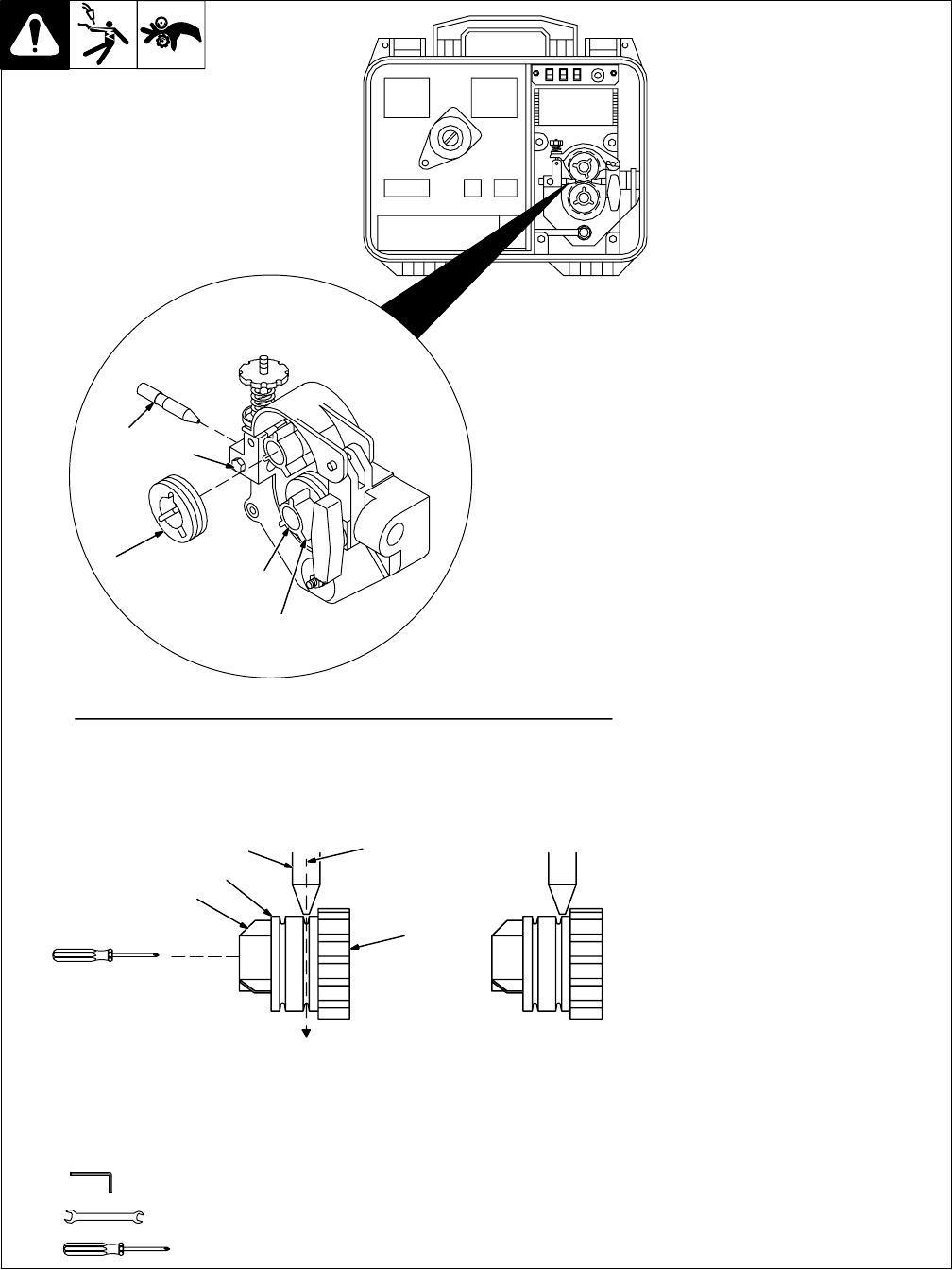 Page 16 of Miller Electric Welder SuitCase 8VS User Guide