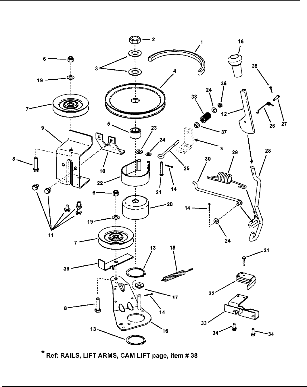 Page 38 of Snapper Lawn Mower 281223BVE (85622) User Guide