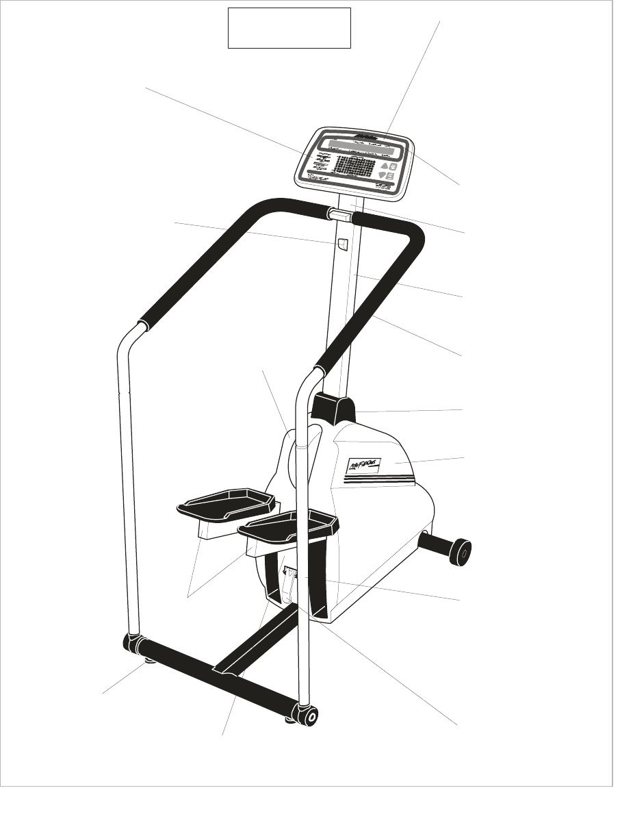 Life Fitness Stepper Machine LS-5500 User Guide