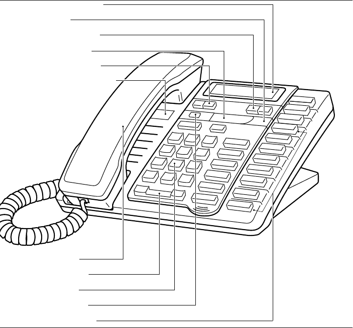 Page 6 of Aastra Telecom Telephone 9316CW User Guide