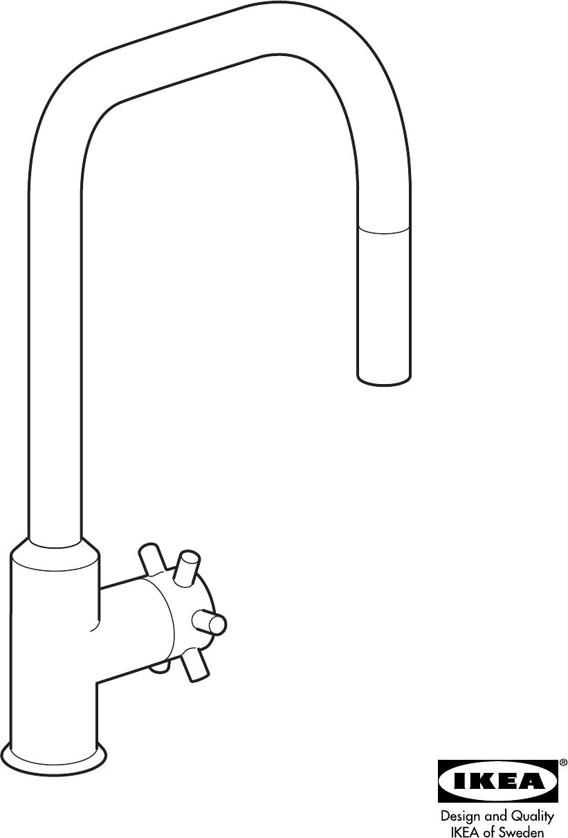 IKEA Plumbing Product AA-289447-2 User Guide
