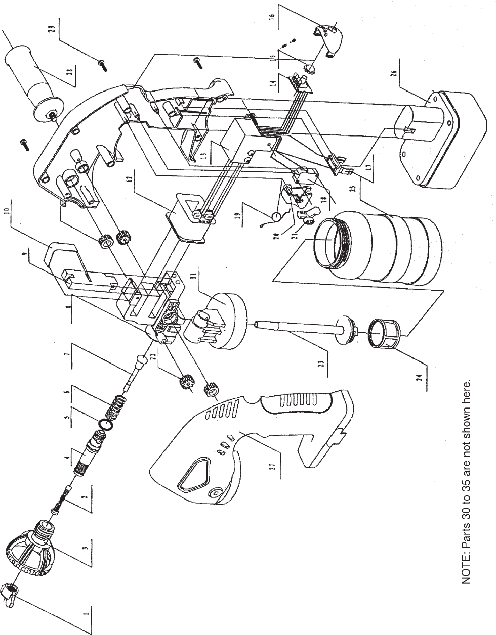 Page 14 of Chicago Electric Paint Sprayer 90880 User Guide