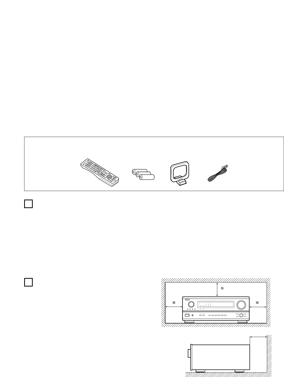 Page 4 of Denon Stereo System AVR-3803 User Guide