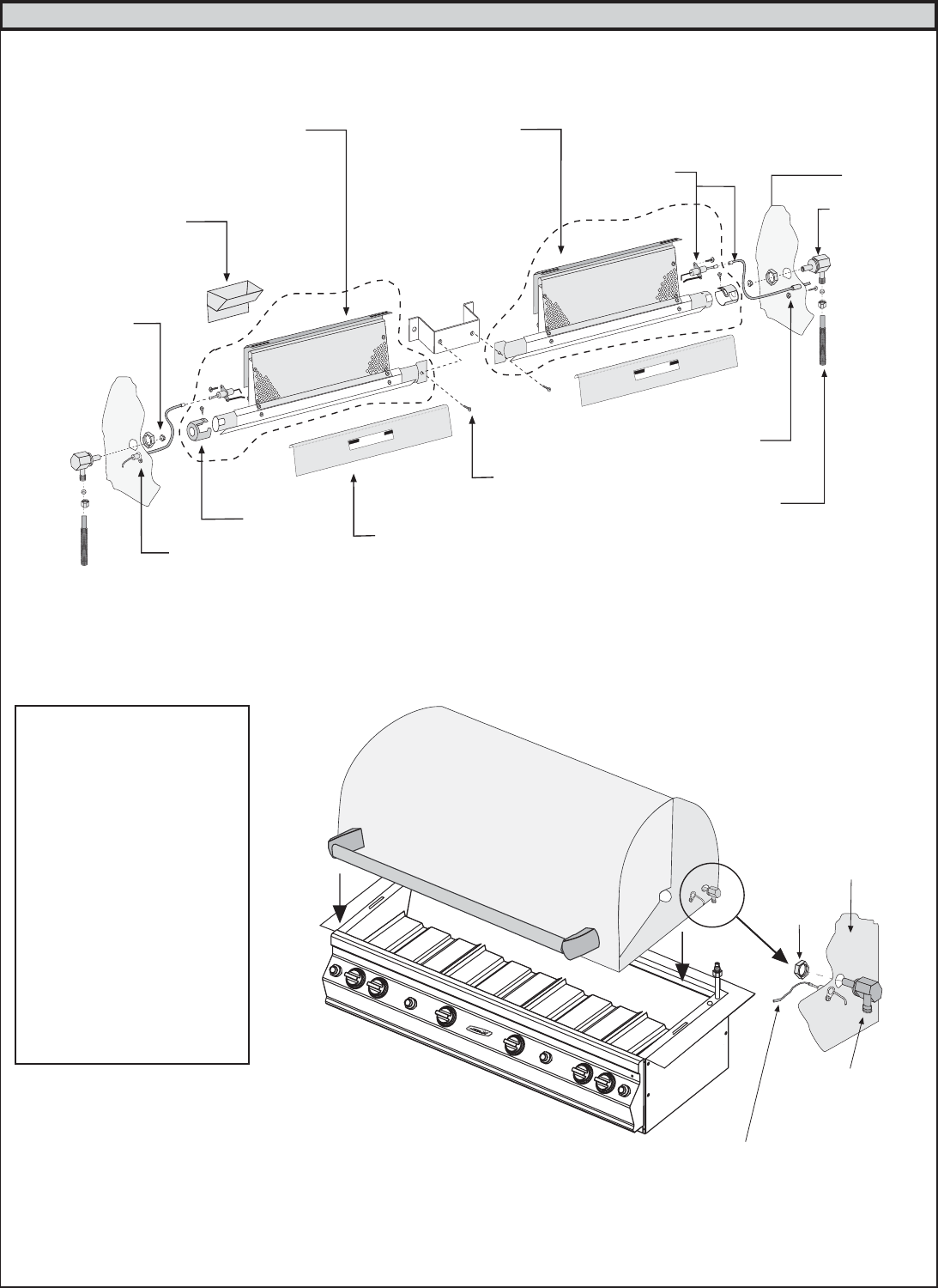 Page 4 of Fire Magic Gas Grill Elite 50 User Guide