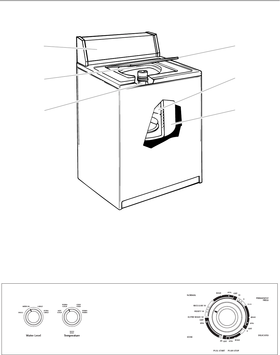 Page 4 of Whirlpool Washer 3953964 User Guide