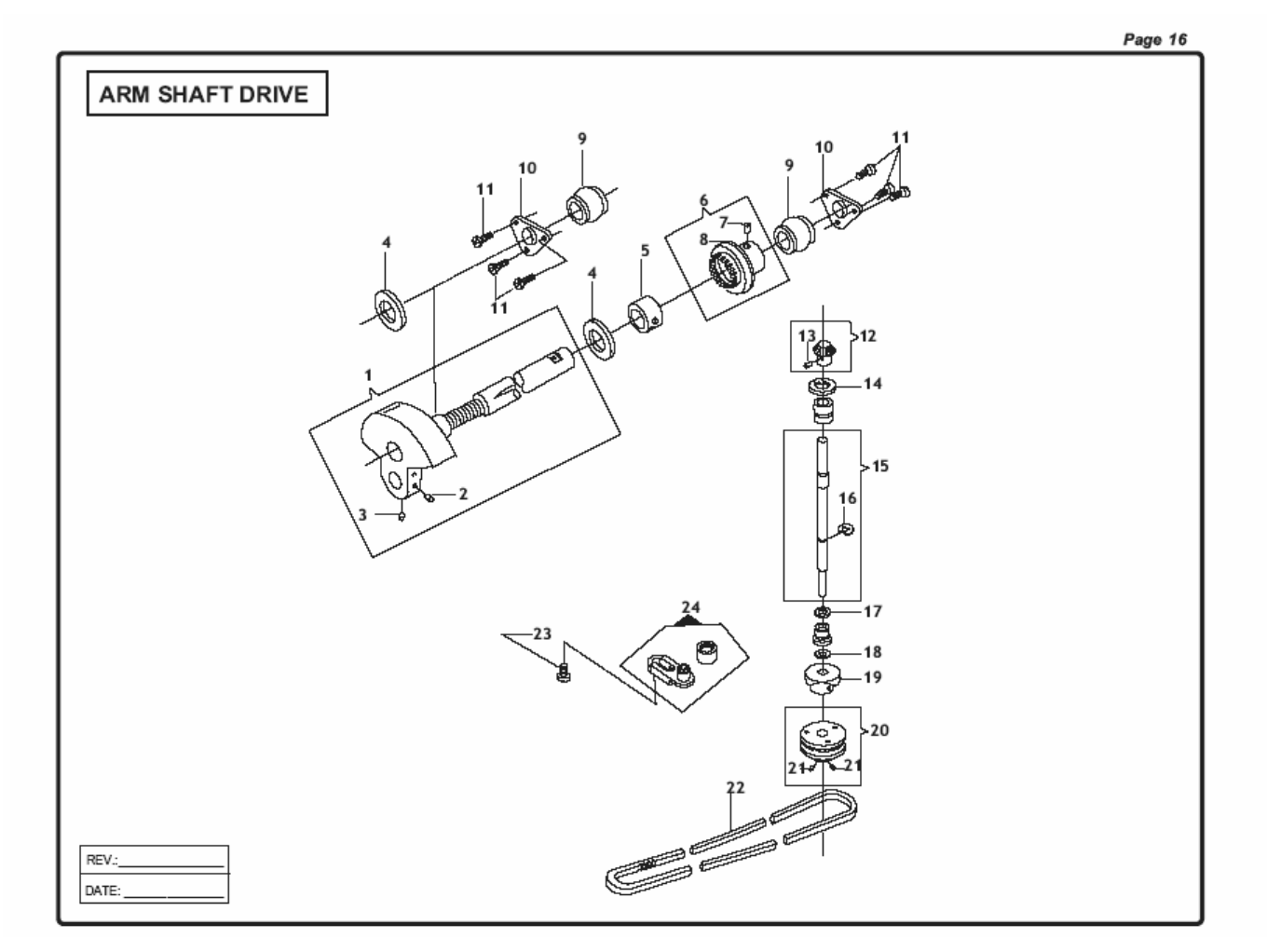 Page 19 of Singer Sewing Machine CG-550 User Guide