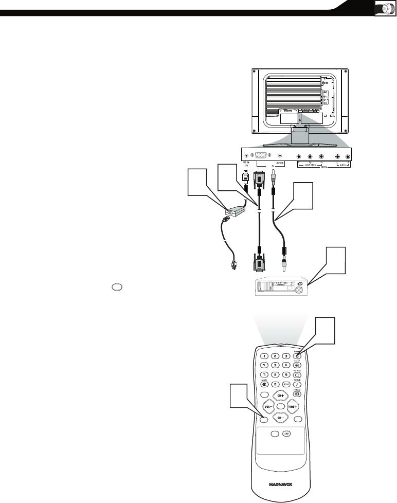 Page 13 of Magnavox Flat Panel Television 15MF User Guide