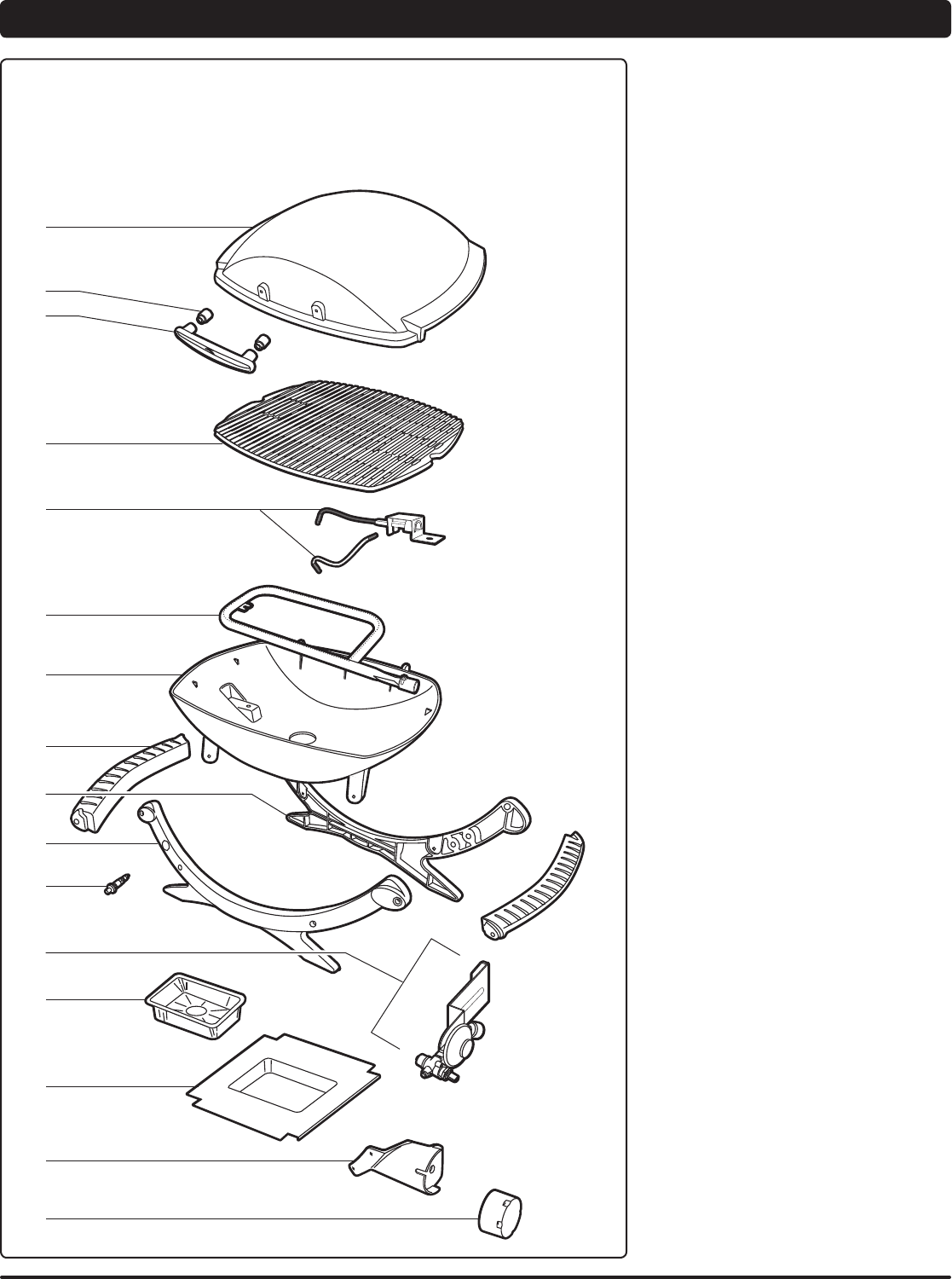 Page 4 of Weber Charcoal Grill 220 User Guide