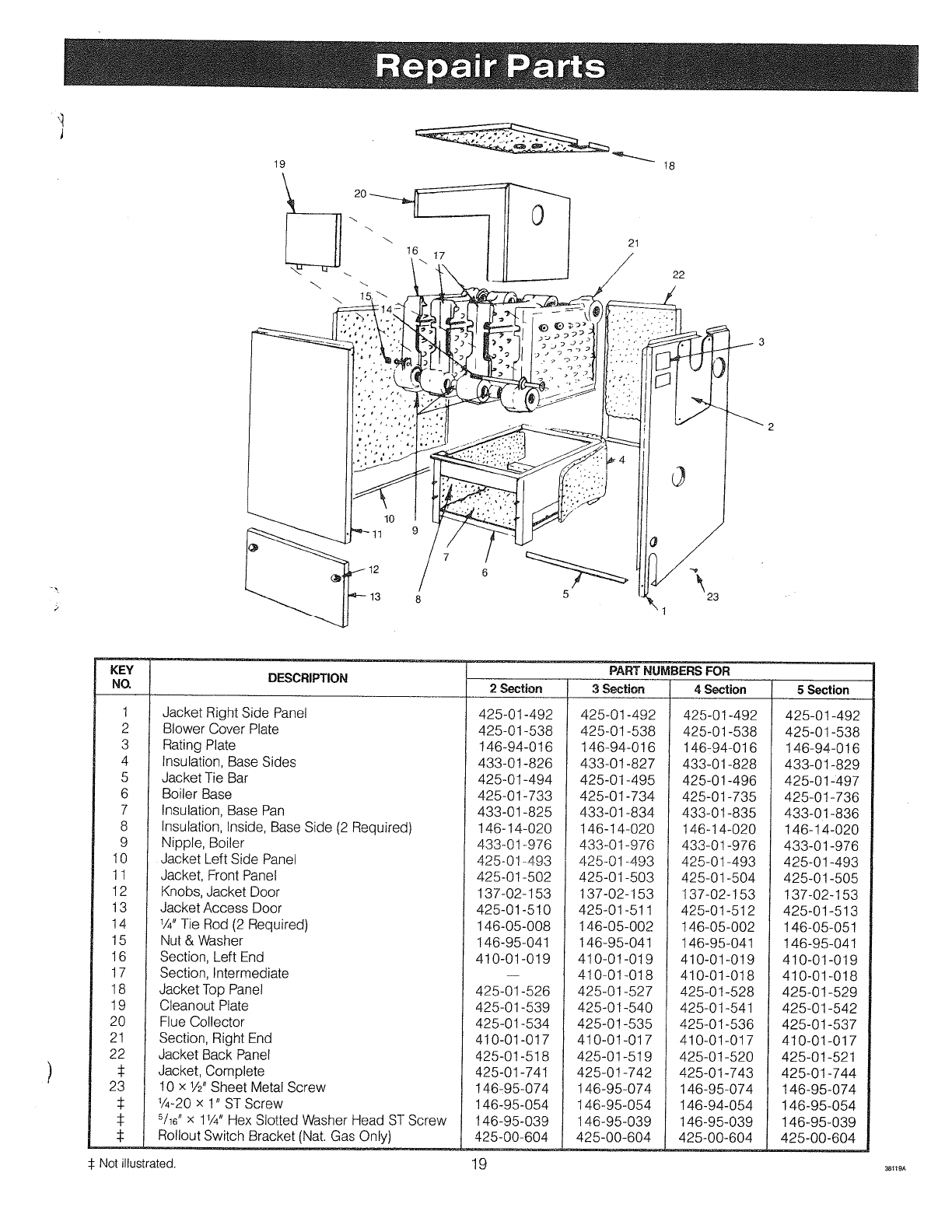 Page 19 of Crown Boiler Boiler XE-5 User Guide