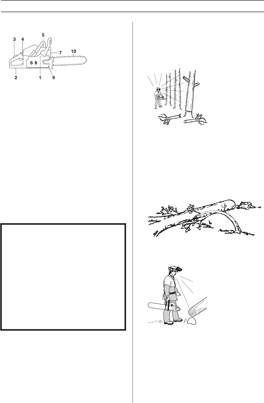 Page 21 of Husqvarna Chainsaw 455 Rancher User Guide