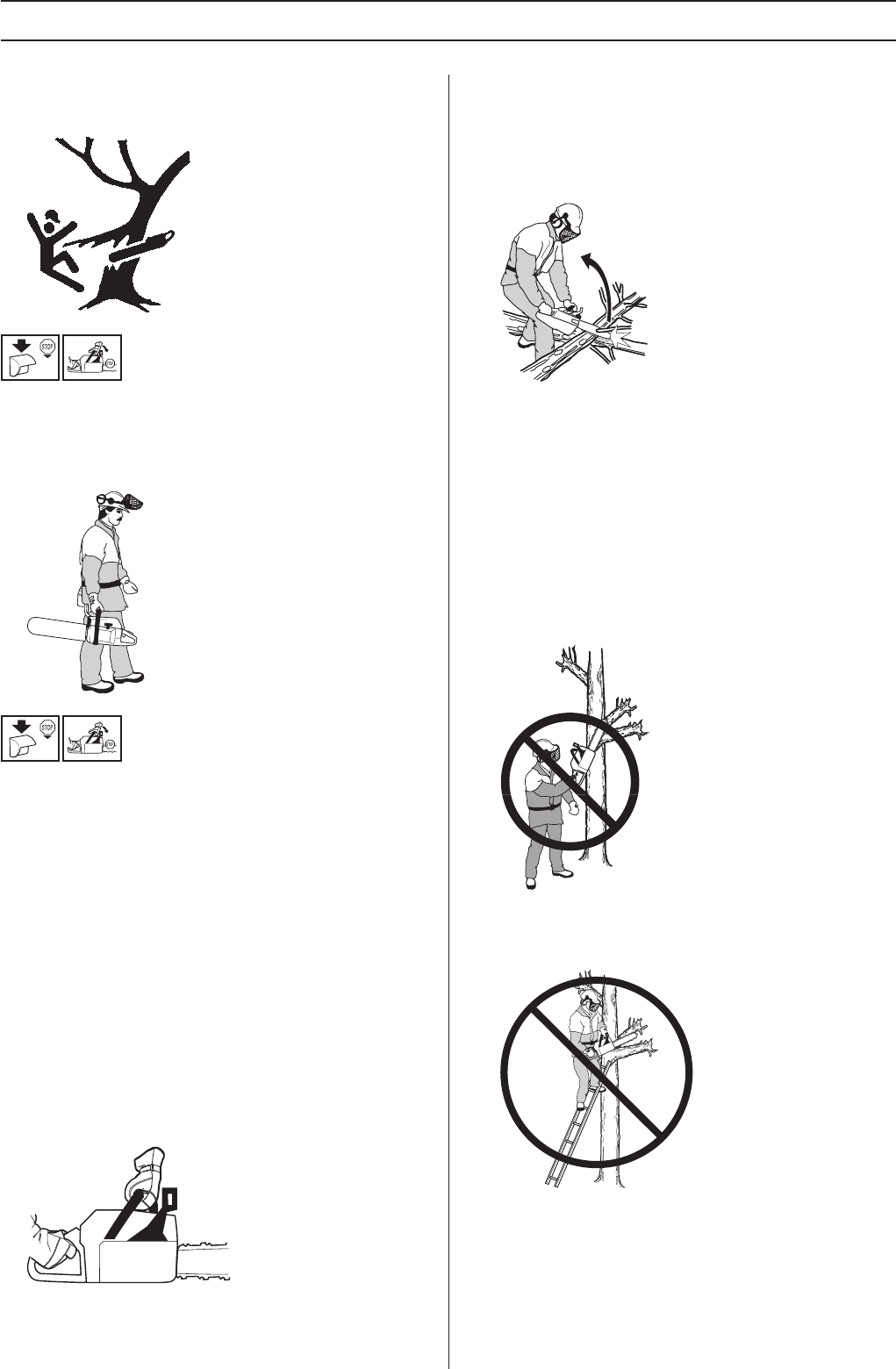 Page 22 of Husqvarna Chainsaw 455 Rancher User Guide