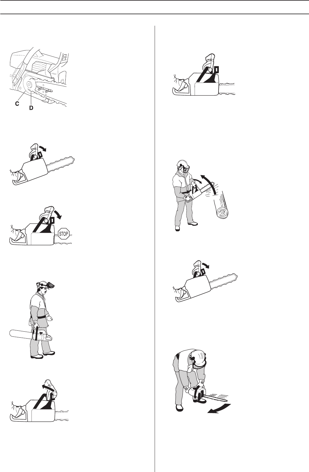 Page 8 of Husqvarna Chainsaw 455 Rancher User Guide
