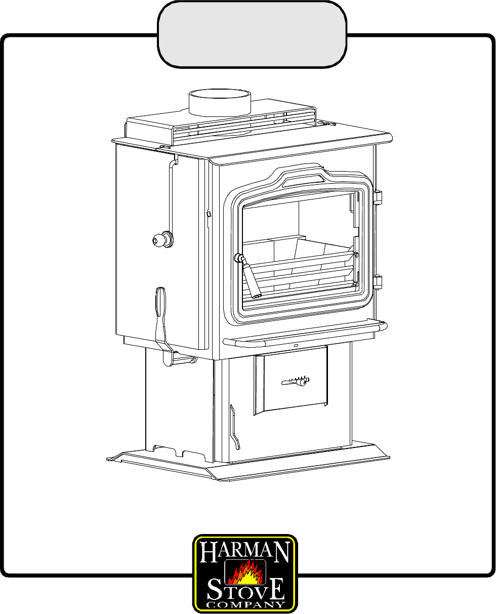 Harman Stove Company Stove TLC 2000 Stove User Guide