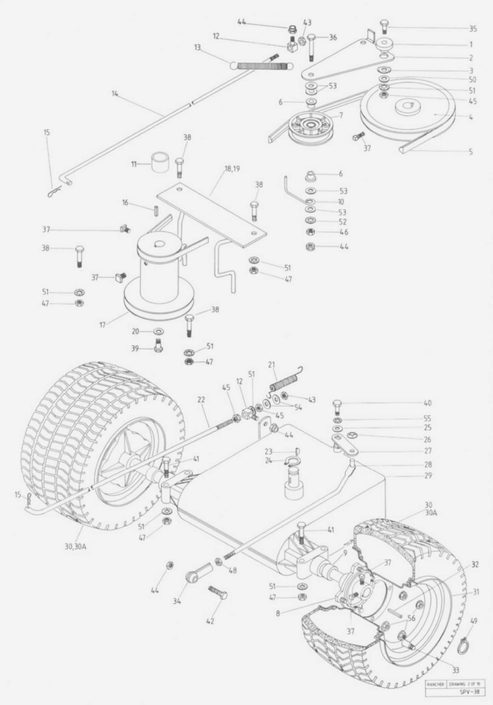 Page 20 of Rover Lawn Mower 1766 User Guide