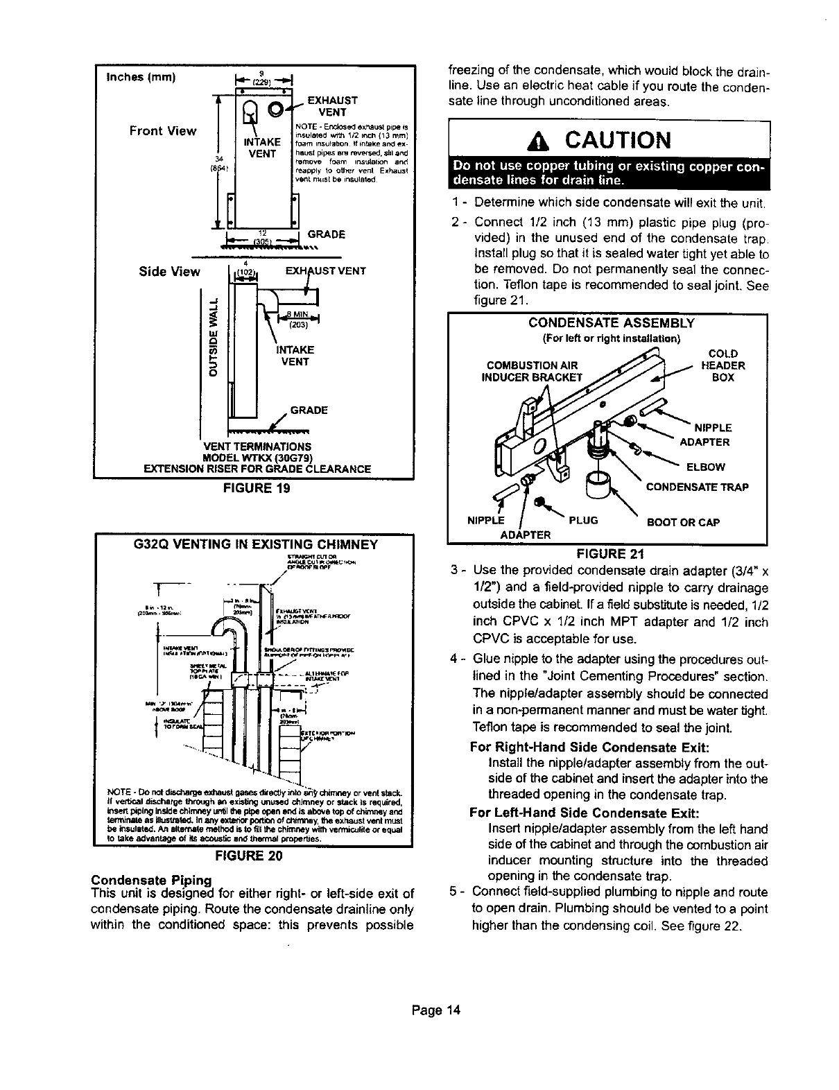 Page 14 of Lennox International Inc. Furnace G32Q3-75 User