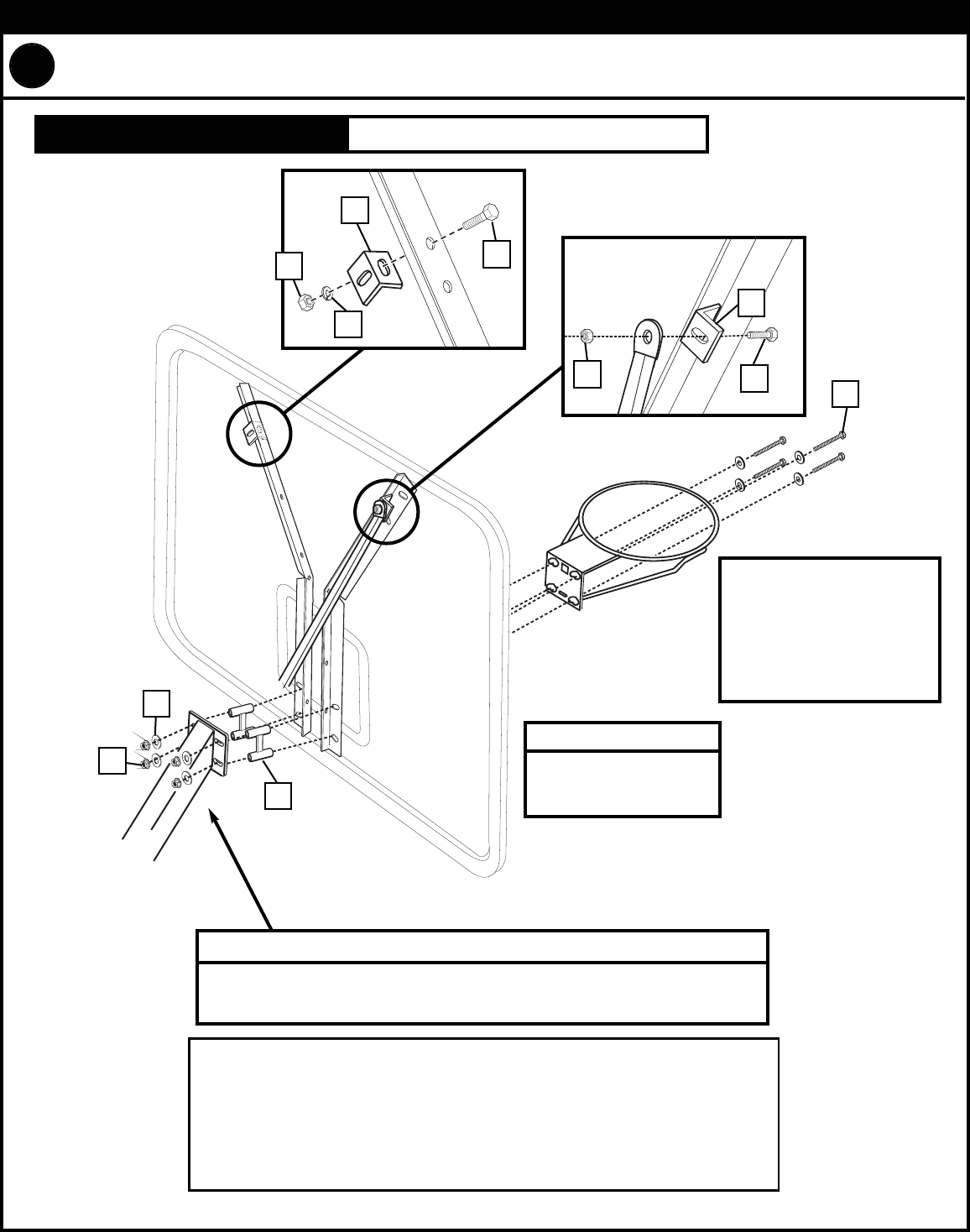 Page 8 of Huffy Board Games Backboard and Rim User Guide