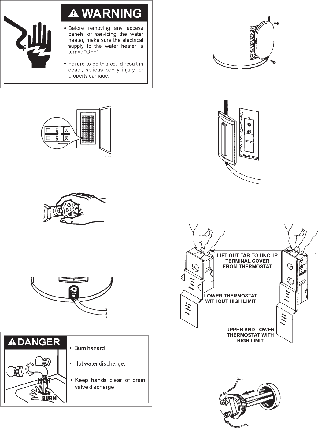 Page 20 of Sears Water Heater 153.321842 User Guide