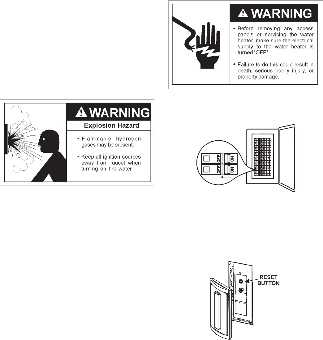 Page 24 of Sears Water Heater 153.321842 User Guide