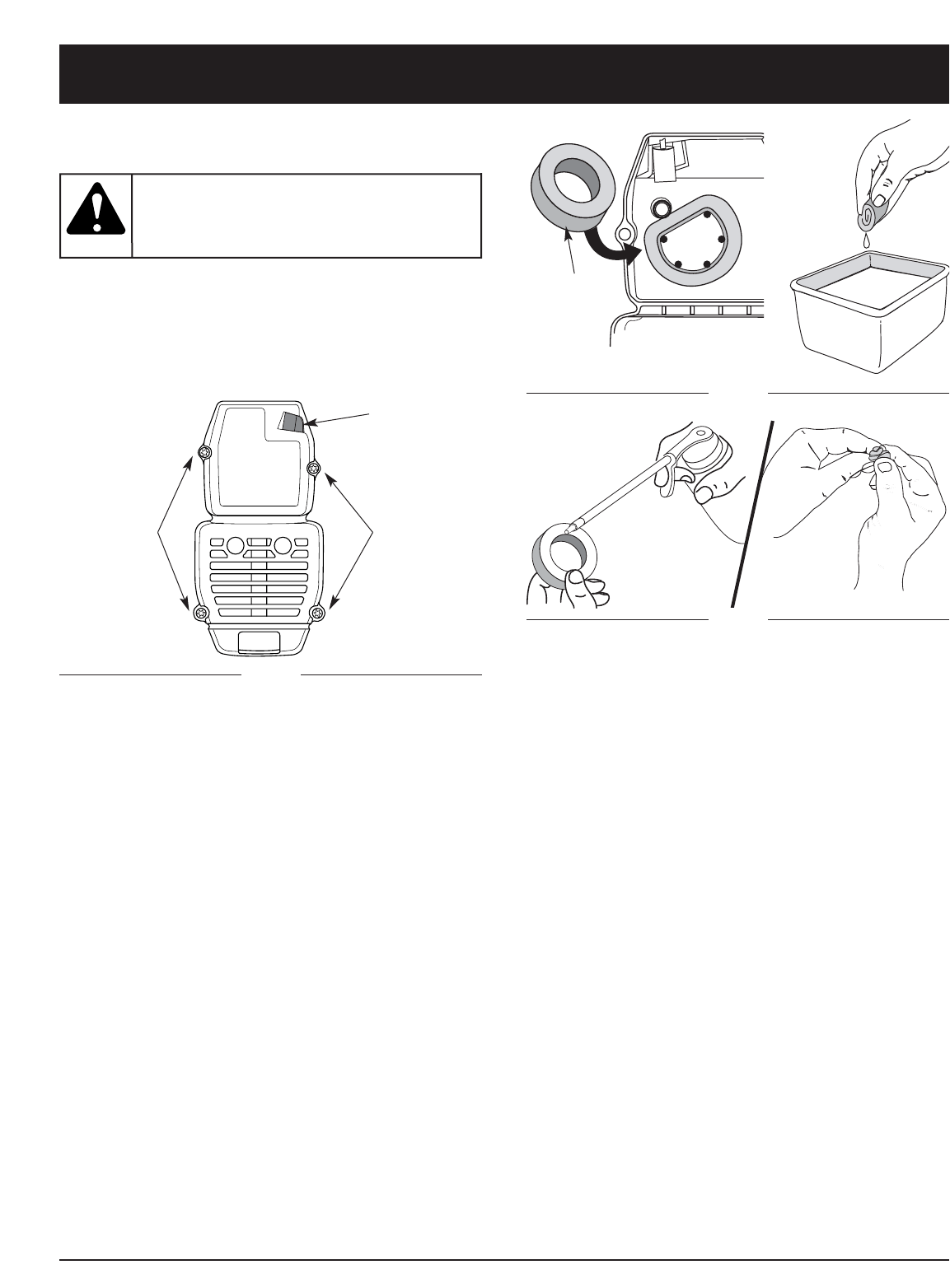 Page 13 of Craftsman Cultivator 316.29256 User Guide