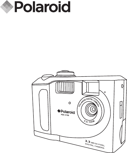 Polaroid Digital Camera PDC 3150 User Guide