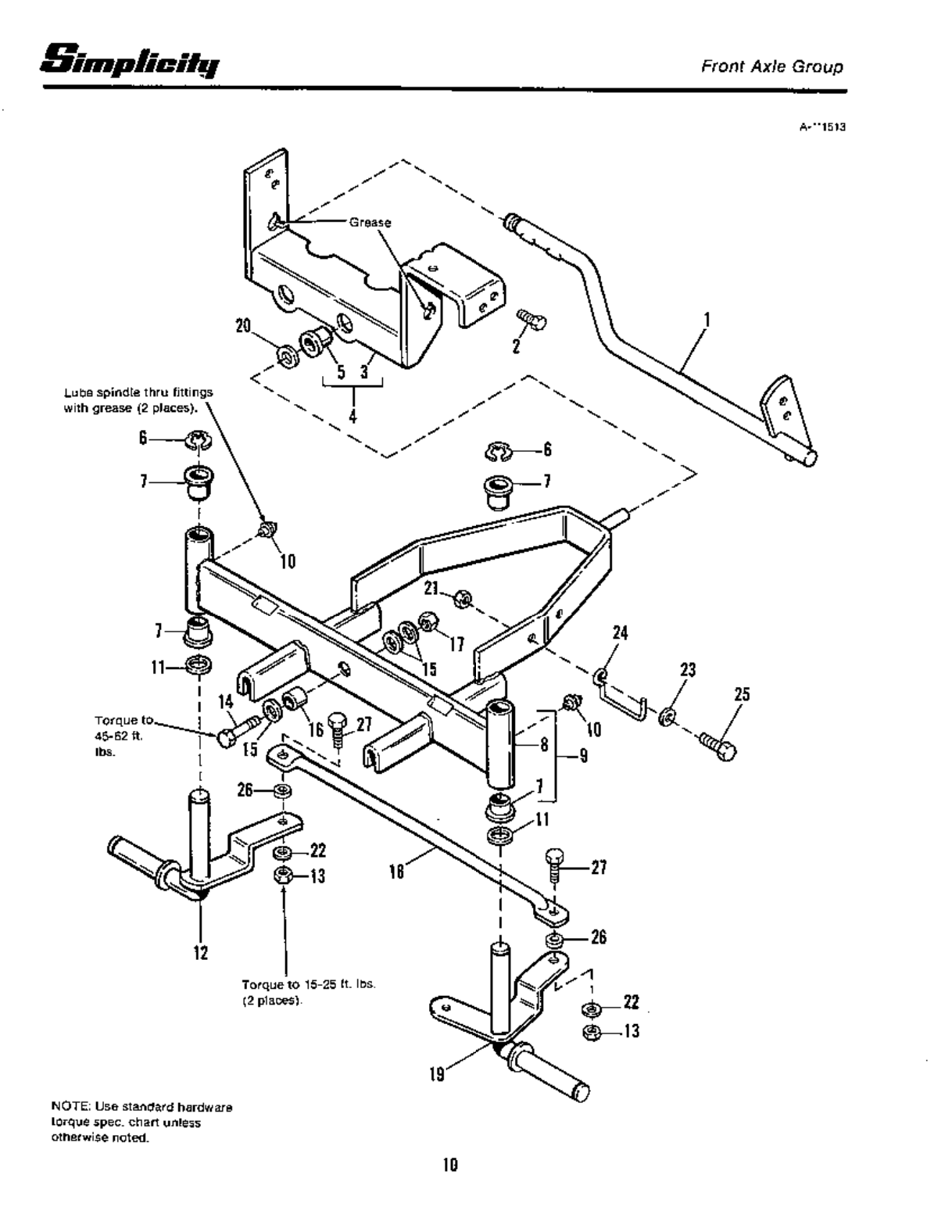Page 12 of Simplicity Lawn Mower 4200 Series User Guide