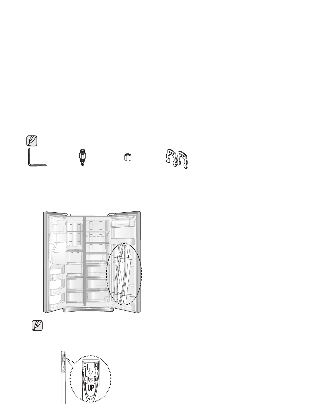 Page 12 of Samsung Refrigerator RS265TDRS User Guide