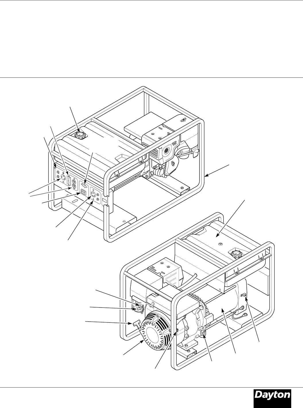 Page 3 of Dayton Portable Generator 3WY46 User Guide
