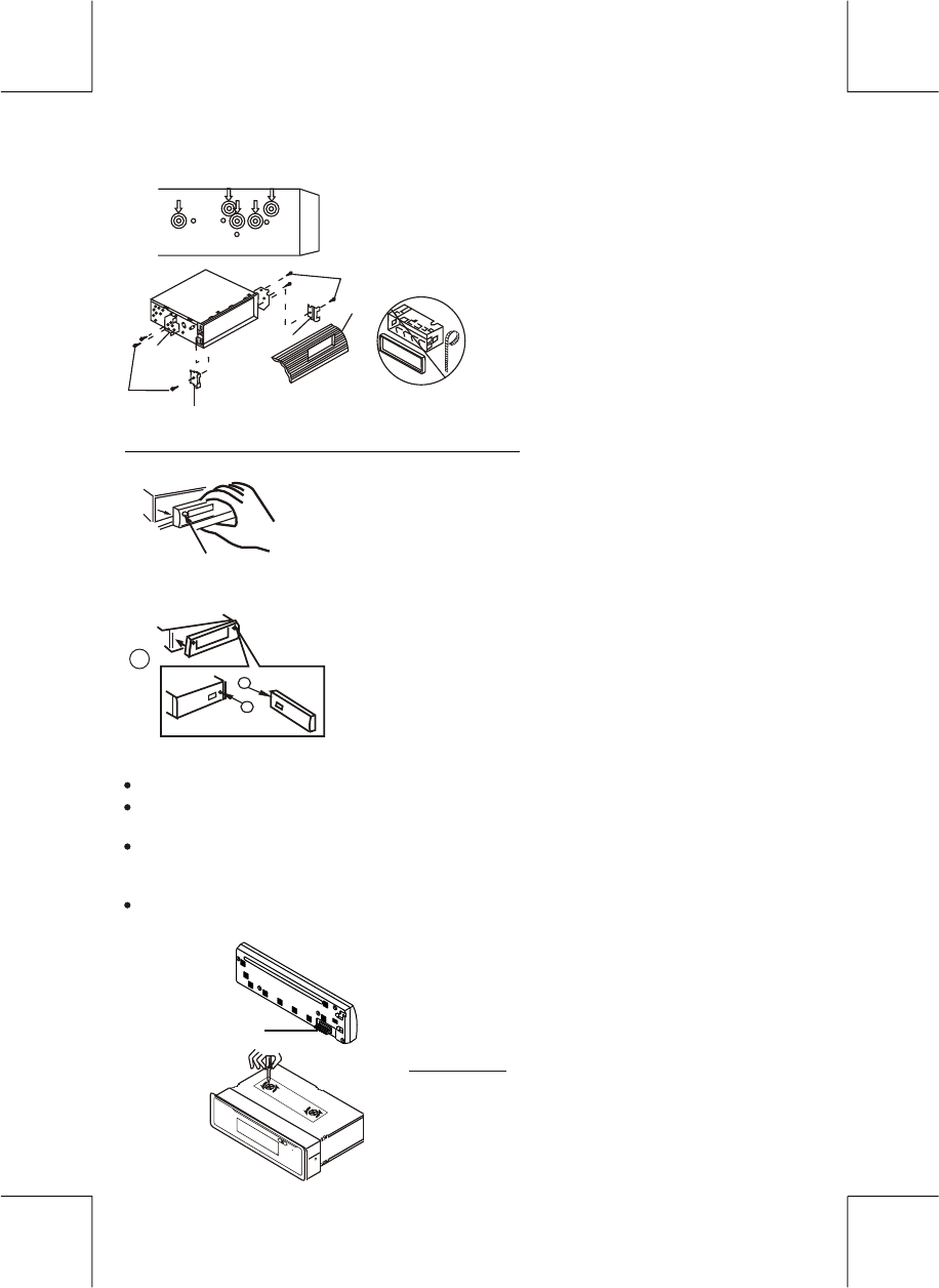 Page 5 of Panasonic Car Stereo System A66HY User Guide