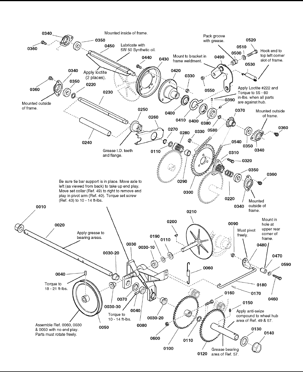 Page 16 of Simplicity Snow Blower P1738E User Guide
