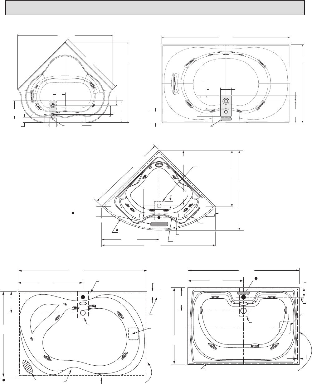 Page 7 of American Standard Hot Tub 2773L User Guide