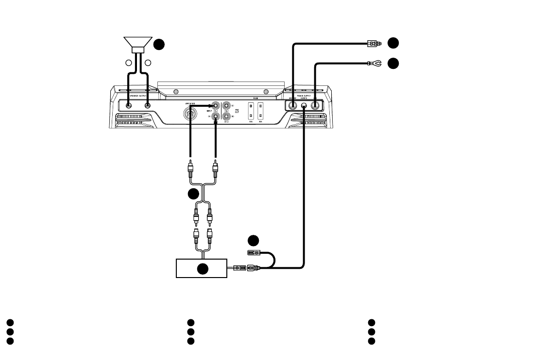 Page 15 of Alpine Stereo Amplifier MRD-M605 User Guide