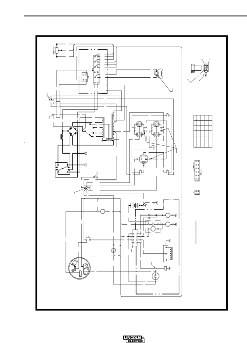 small resolution of page 32 of lincoln electric welding system im819 b user guide lincoln ranger 10000 wiring diagram