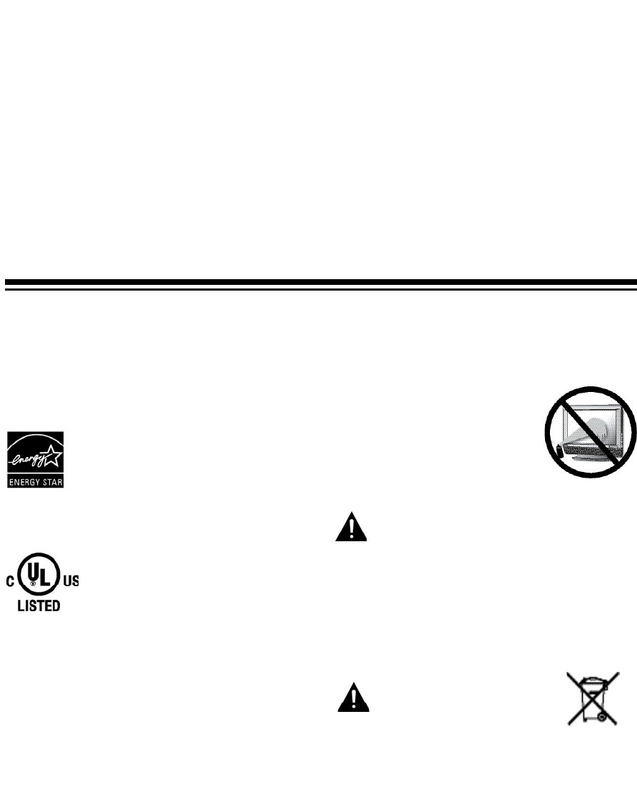 Page 3 of Sanyo Flat Panel Television DP32648 User Guide