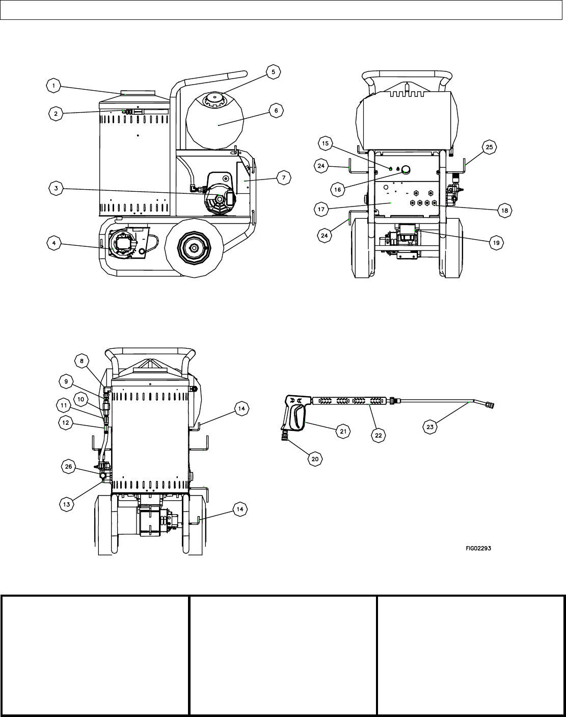 Page 5 of North Star Pressure Washer M157305G User Guide