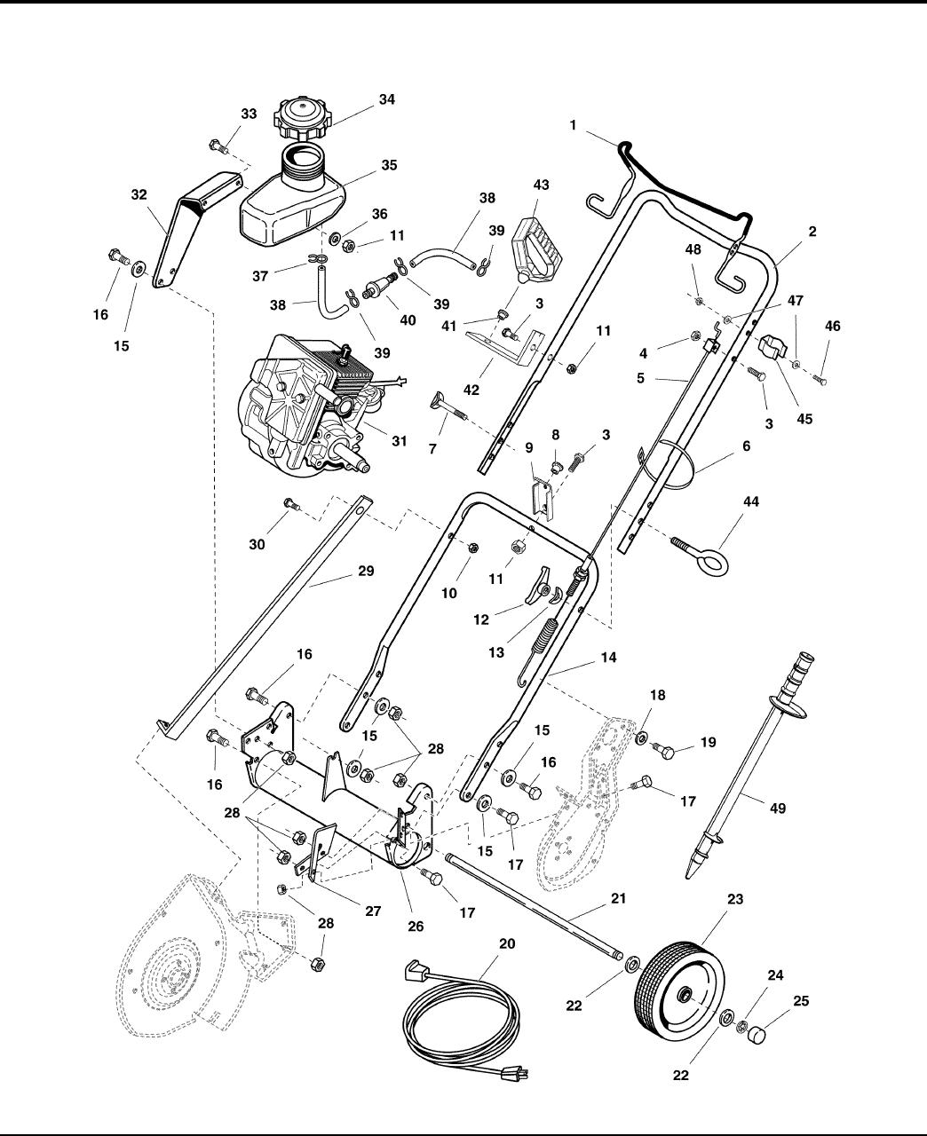 Page 6 of Simplicity Snow Blower 520 User Guide