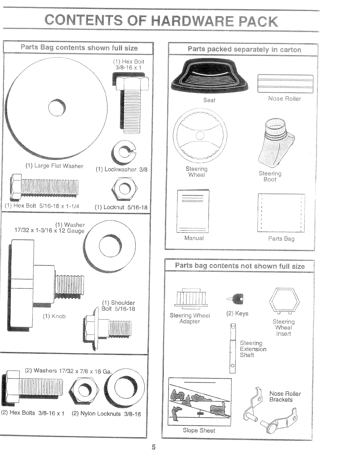 Page 5 of Poulan Lawn Mower 168737 User Guide