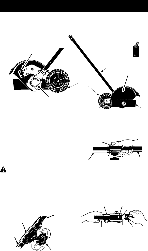 Page 6 of Weed Eater Trimmer 1000E User Guide